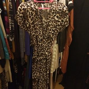 Dresses & Skirts - Cheetah Print Jumper